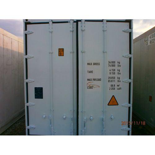40-футовый рефконтейнер CARRIER Mic 2, 1999-2004 года выпуска