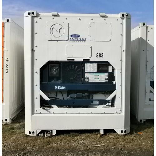 45-футовый рефконтейнер Carrier mic 2  в стальном корпусе